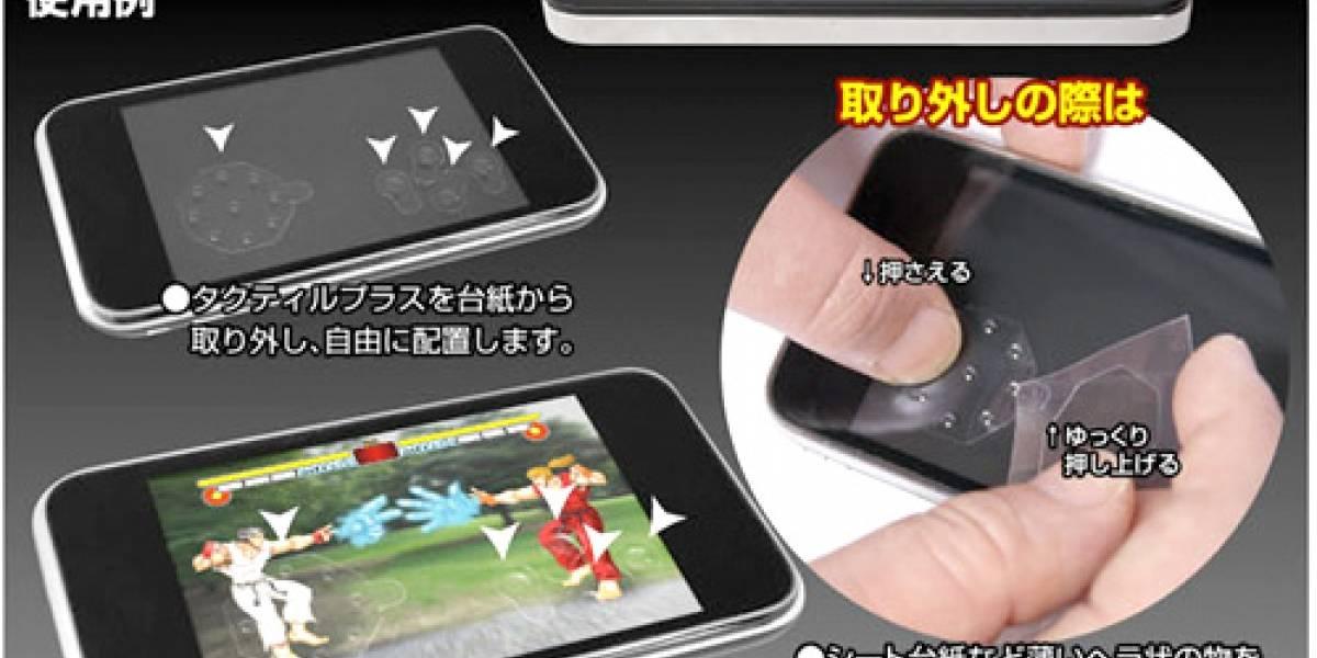 Botones adhesivos para jugar en tu smartphone táctil