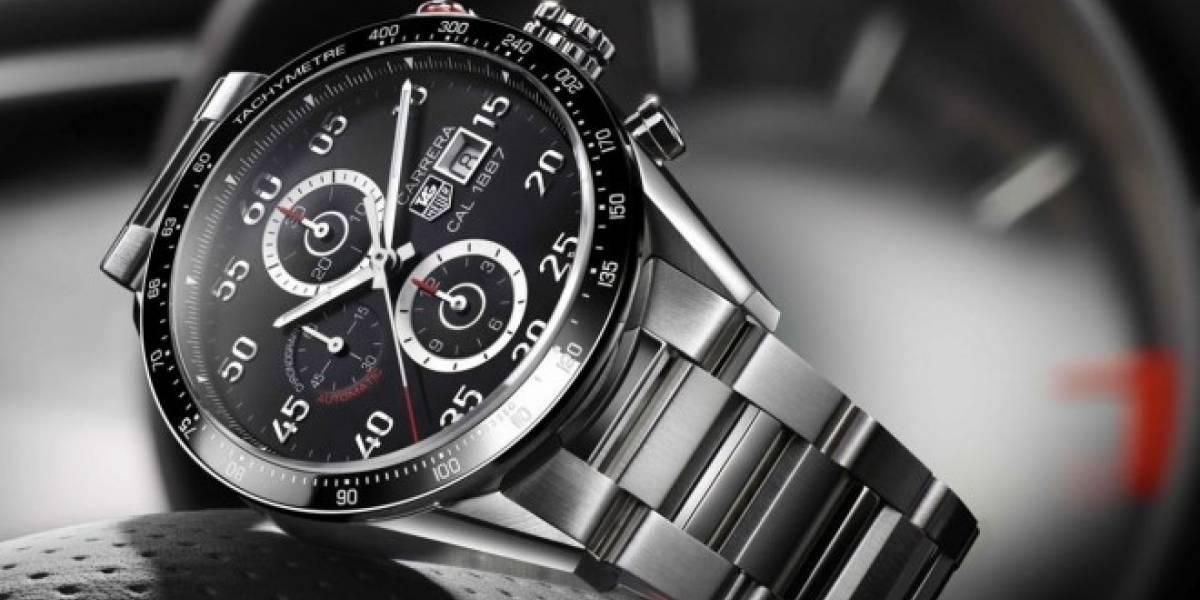 El smartwatch de TAG Heuer con Android Wear se venderá por USD $1,400