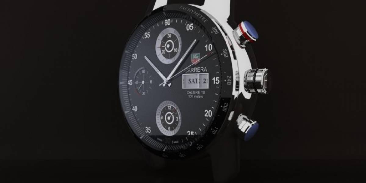 Tag Heuer Carrera Wearable 01 es el primer smartwatch de la compañía
