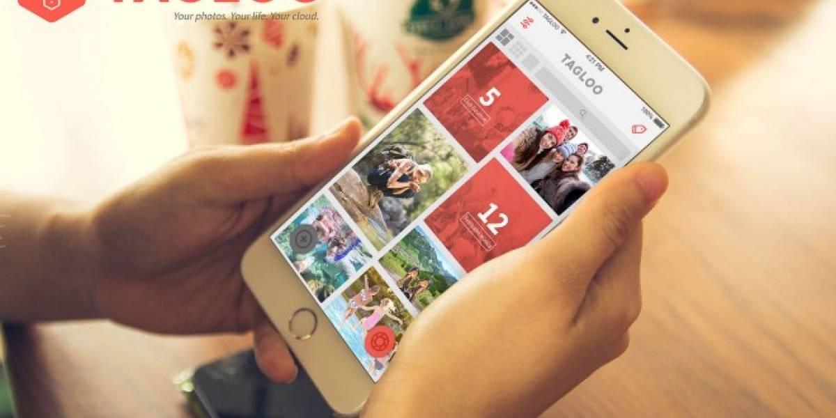 Tagloo es otra aplicación que busca organizar mejor tus fotografías