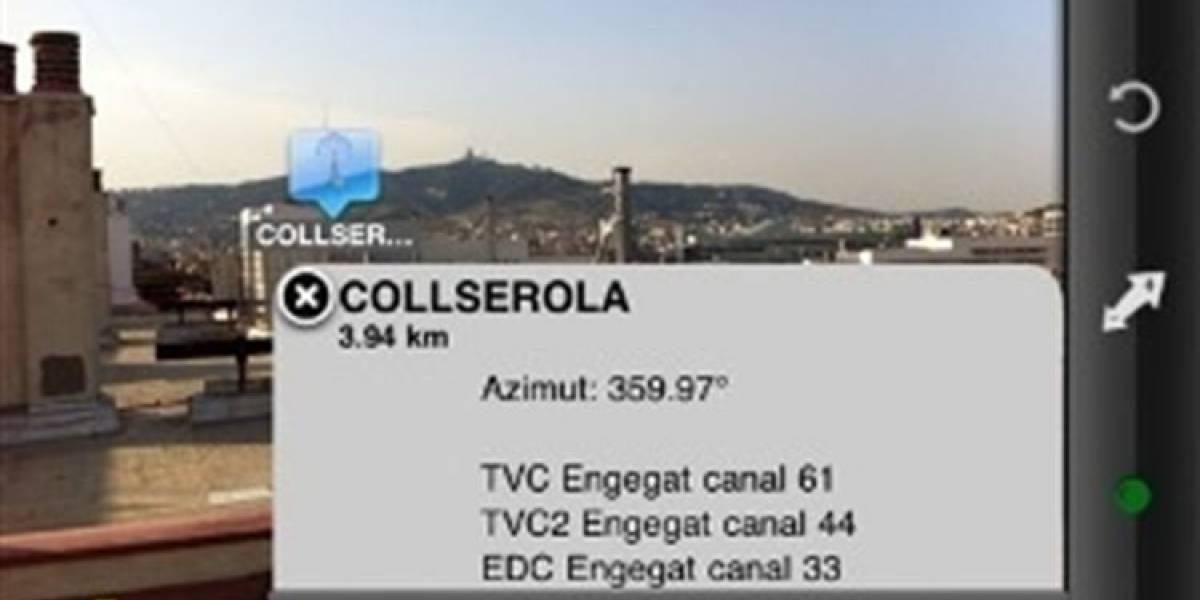 España: Orienta correctamente tu antena TDT con una app