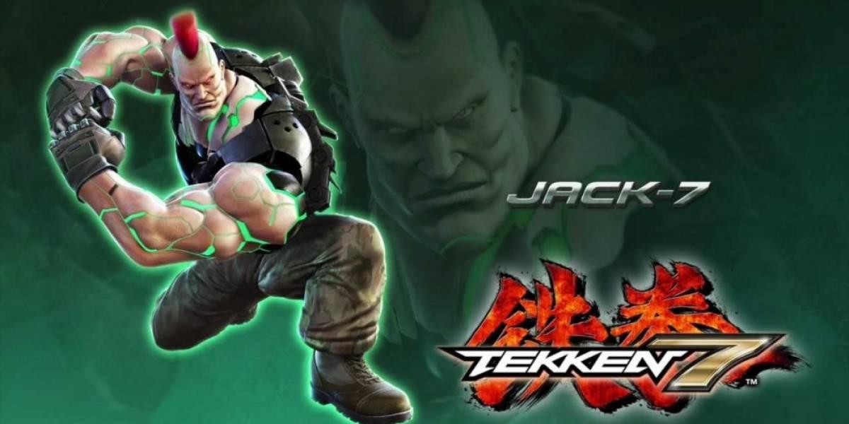 Jack-7 es el nuevo peleador de Tekken 7