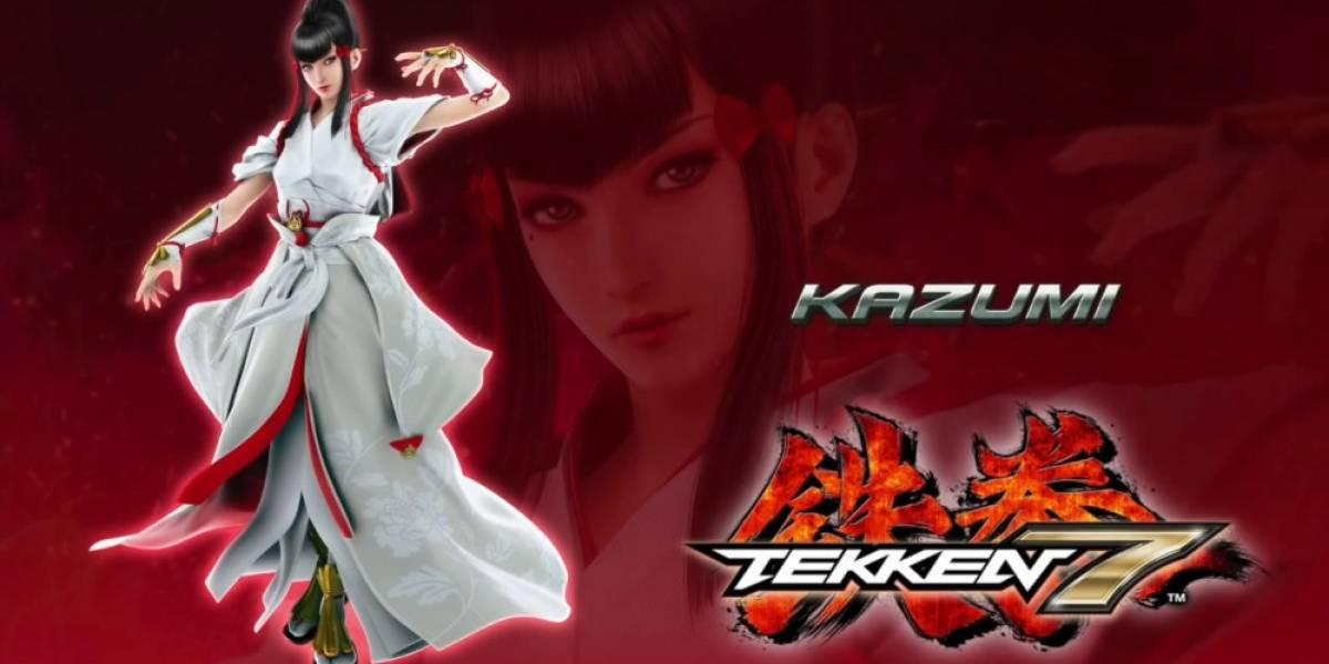 Se anuncia Kazumi Mishima como nuevo personaje de Tekken 7