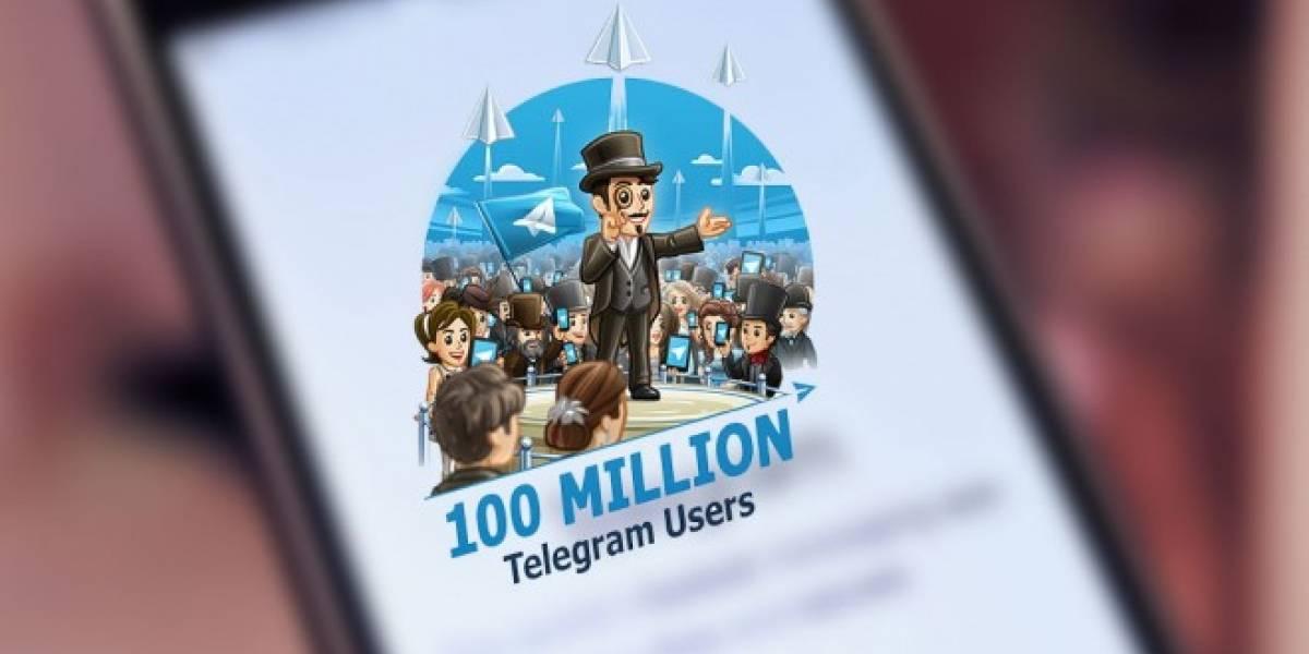 Telegram ya superó los 100 millones de usuarios activos