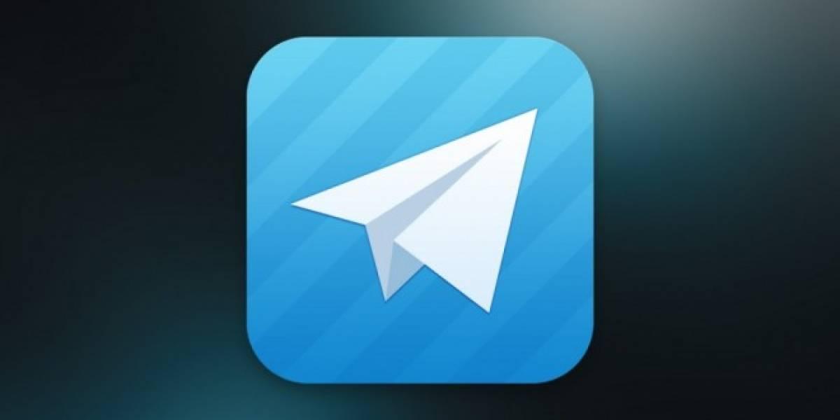 Telegram se actualiza con Material Design, GIFs y autodestrucción de cuentas