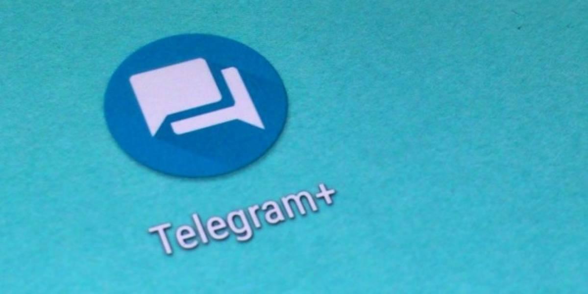 Llega Telegram+ de la mano del creador de WhatsApp Plus