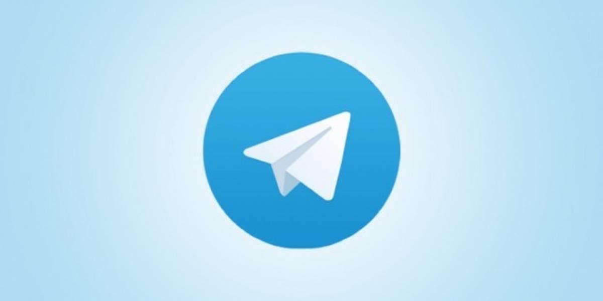 Telegram para iOS y Android se actualiza agregando soporte para apodos