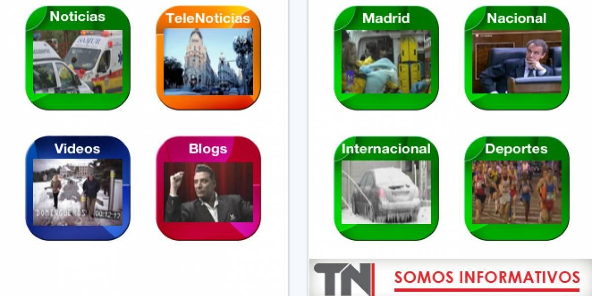 España: Telemadrid lanza su aplicación para iPad