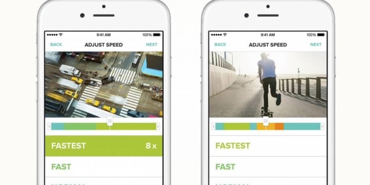 Tempo para iOS permite unificar vídeos normales y a cámara lenta