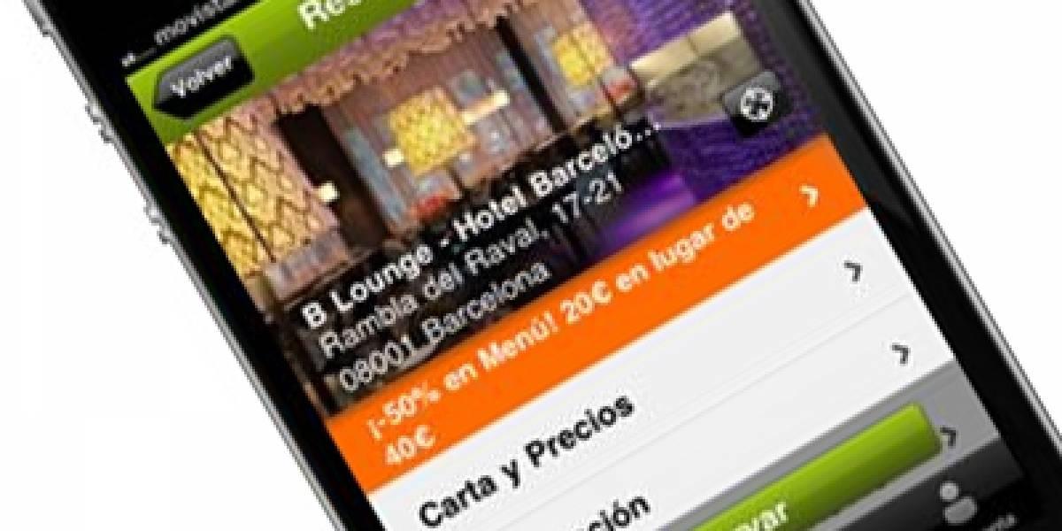 España: Reserva mesa en tu restaurante favorito desde el iPhone