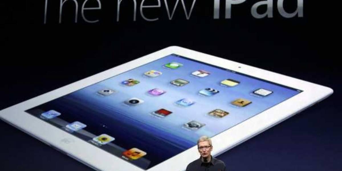 Revisa la keynote en que se anunció el nuevo iPad