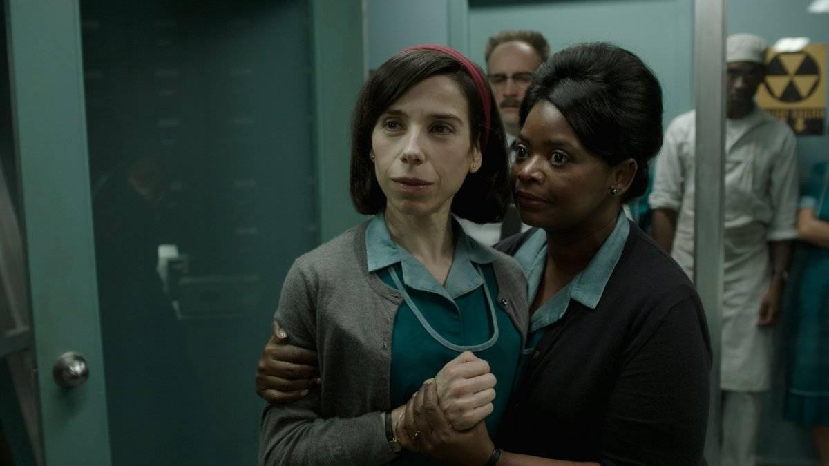 Sally Hawkins (Elisa), y Octavia Spencer (Zelda) en una escena de la película. fe