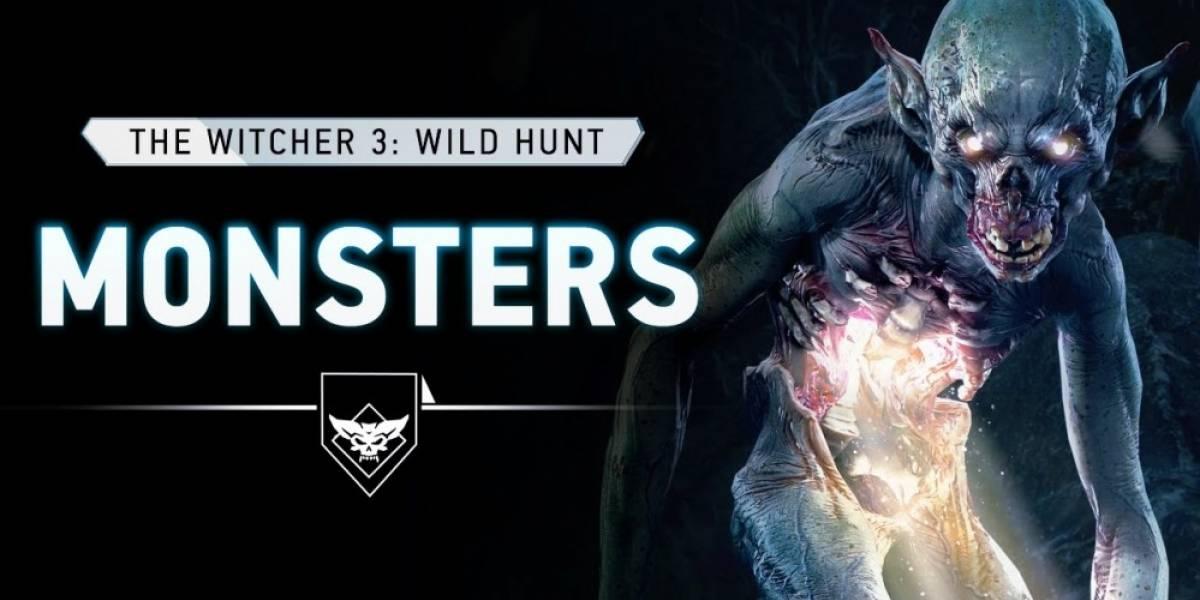 Conozcan más acerca de los monstruos de The Witcher 3: Wild Hunt
