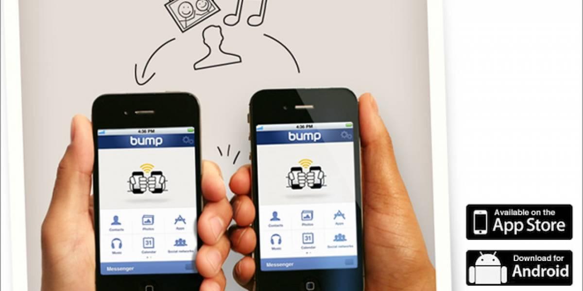 Bump: Comparte cosas con un choque [W App]
