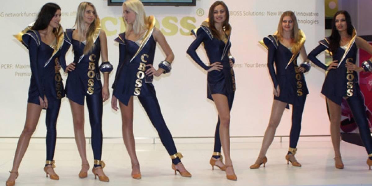 Con Ustedes: Las Booth Babes del MWC2011