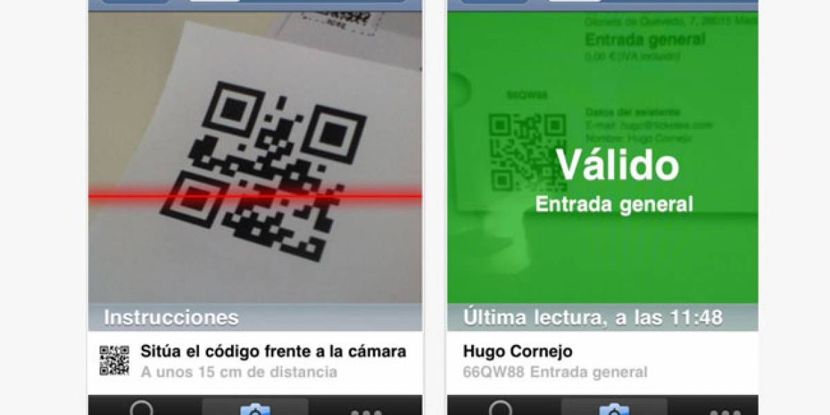 España: Ticketea ofrece servicio de validación de entradas con el iPhone