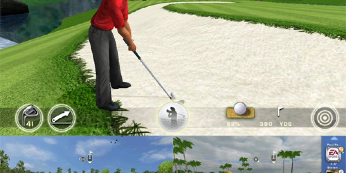 `Tiger Woods PGA Tour 12´ ya disponible para iPhone e iPad