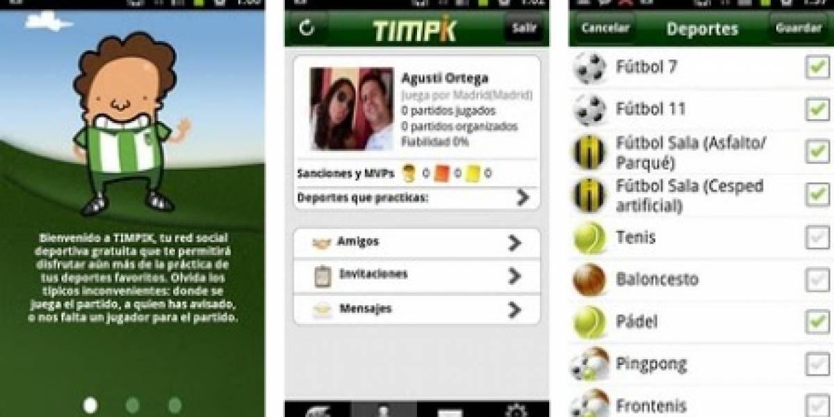 Timpik llega también a Android