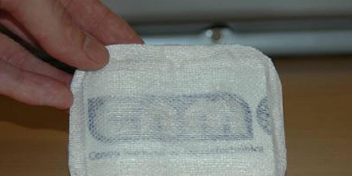 Una tirita electrónica medirá la temperatura corporal y el ritmo cardíaco