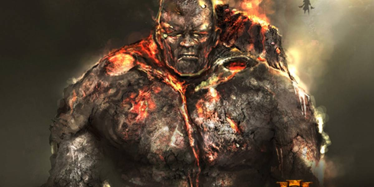 Arte conceptual de God of War III nos muestra al Titán de Fuego