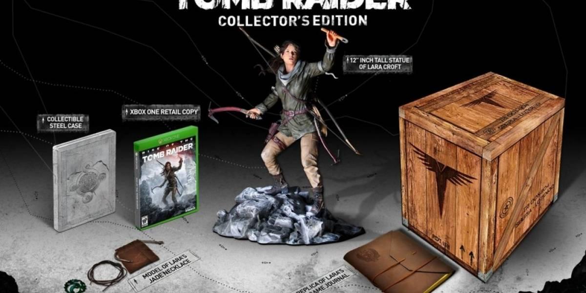 Unboxing de la Edición de Colección de Rise of the Tomb Raider