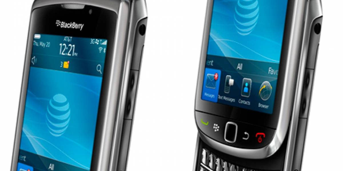 BlackBerry Torch a primera vista