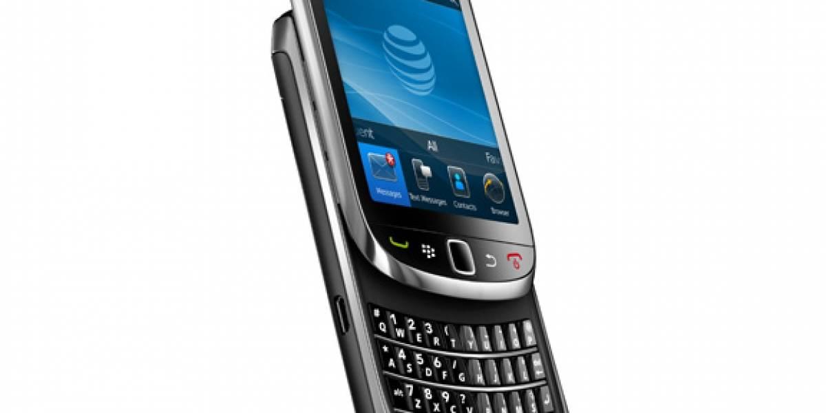 Blackberry Torch llega a España con Movistar