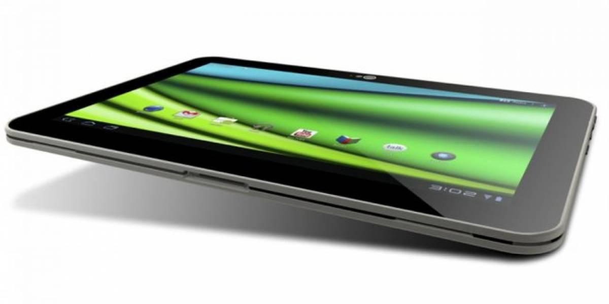 CES 2012: Toshiba muestra el tablet de 10 pulgadas más delgado del mundo, con 7,7 mm de grosor