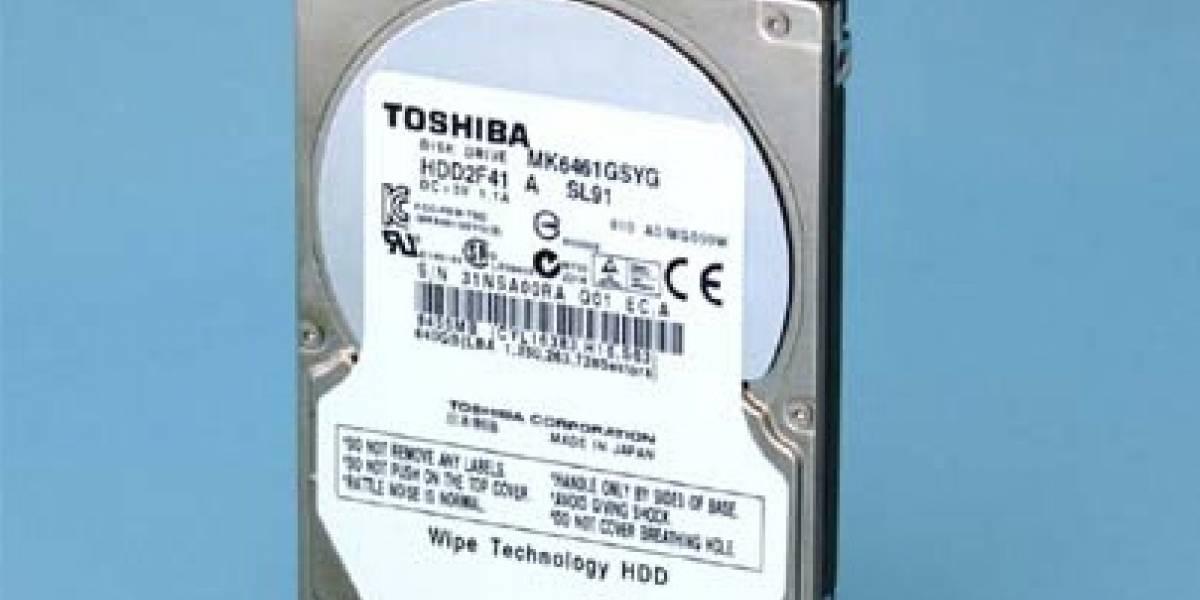 Toshiba lanza su línea de discos duros Mkxx61GSYG con tecnología SED