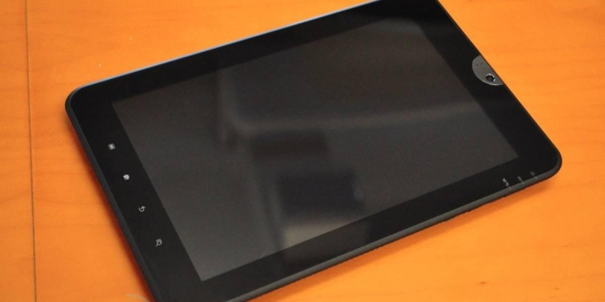 Toshiba anuncia tablet de 10 pulgadas con Android Honeycomb