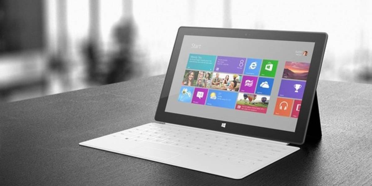 Microsoft reducirá a la mitad la fabricación del Surface RT