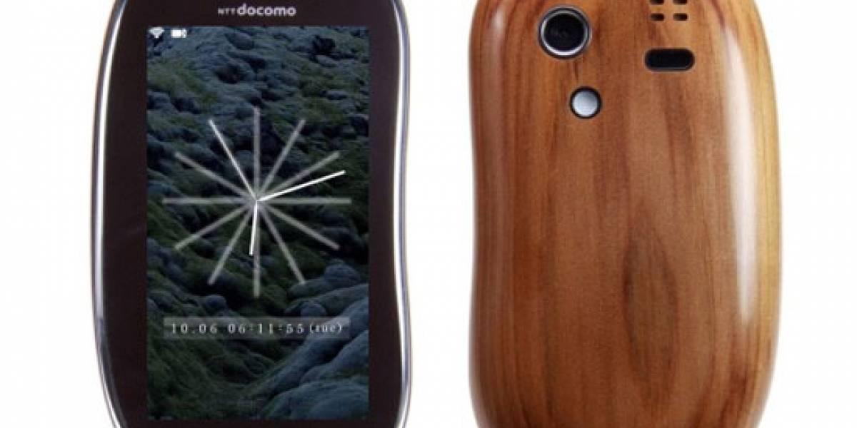 "Sharp le pone pantalla táctil al mítico ""celular de palo"""