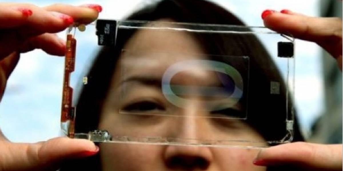 El smartphone transparente, ¿una realidad?