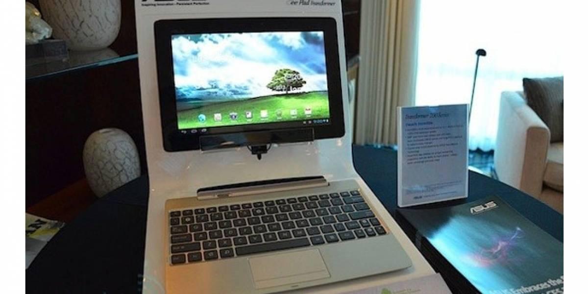 CES 2012: Asus incorpora pantalla FullHD a Transformer Prime y la bautiza TF700T