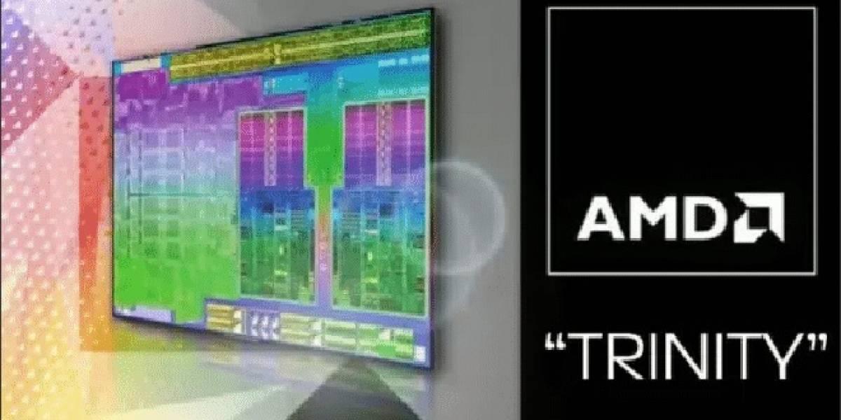 Presentación del APU AMD Trinity filtrada