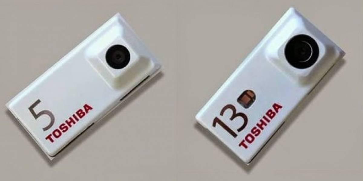 Toshiba muestra los primeros módulos de cámaras para Project Ara