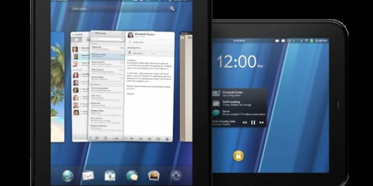 El HP TouchPad sale a la venta el 1 de julio