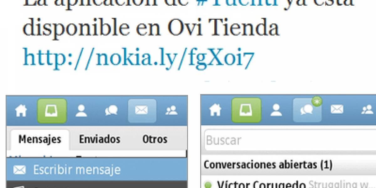 Aplicación de Tuenti ya está disponible para Symbian