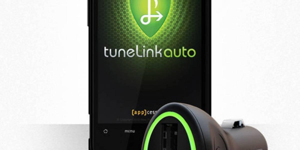 TuneLink Auto lleva la música de tu smarphone al automóvil