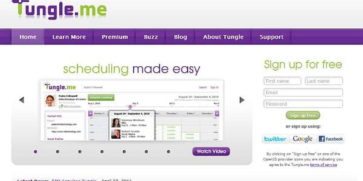 RIM adquiere otra startup: El calendario social Tungle.me