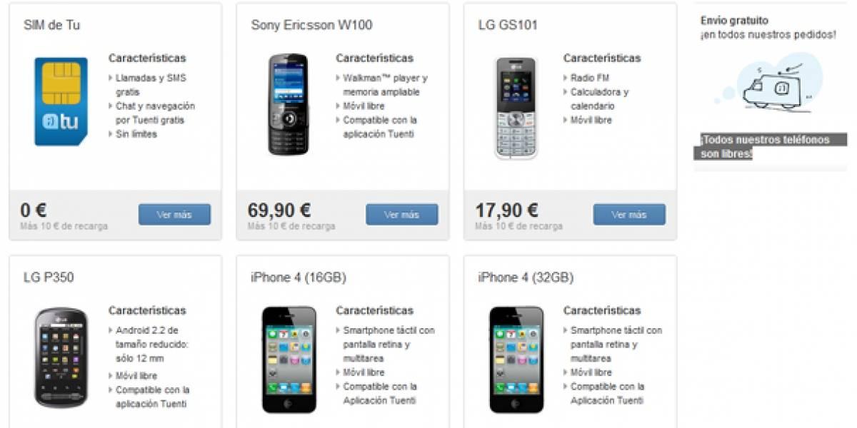 España: Tuenti estrena tienda de teléfonos móviles