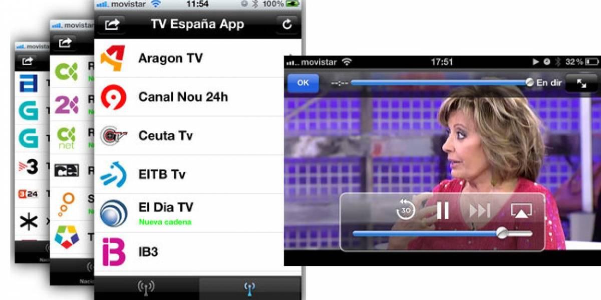 'TV España App' lleva los canales locales y nacionales a tu Android o iOS