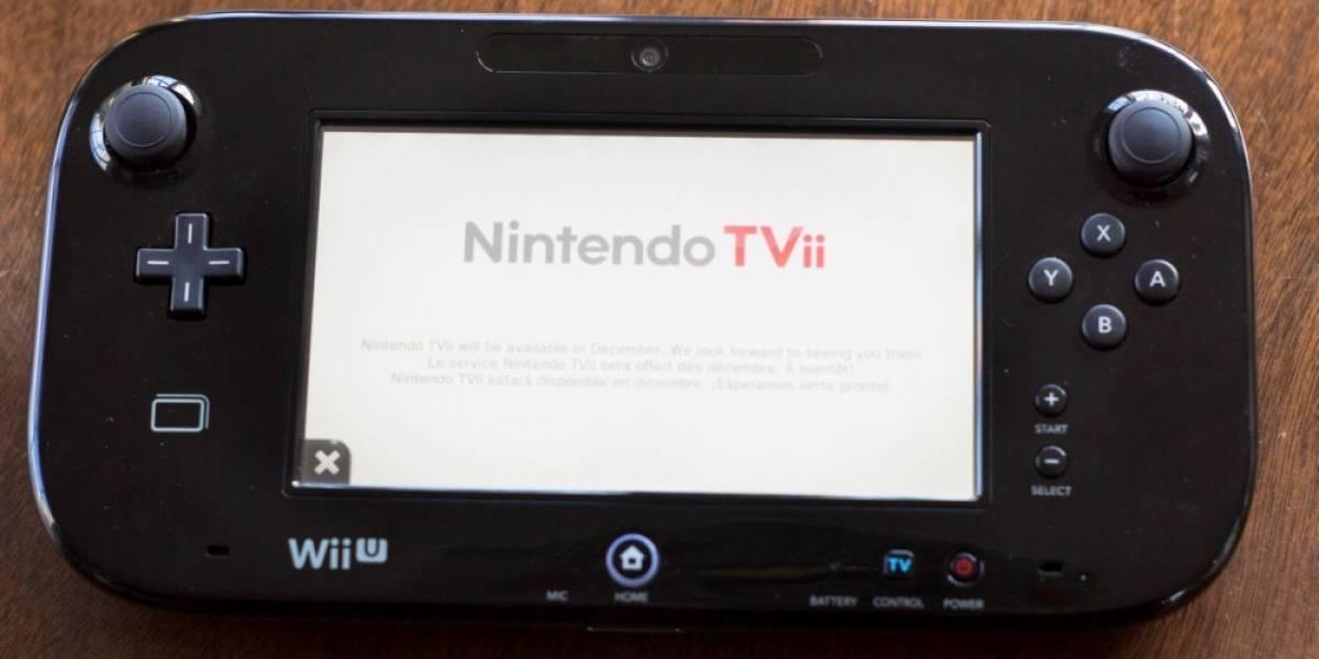 Nintendo cancela el servicio TVii en Europa
