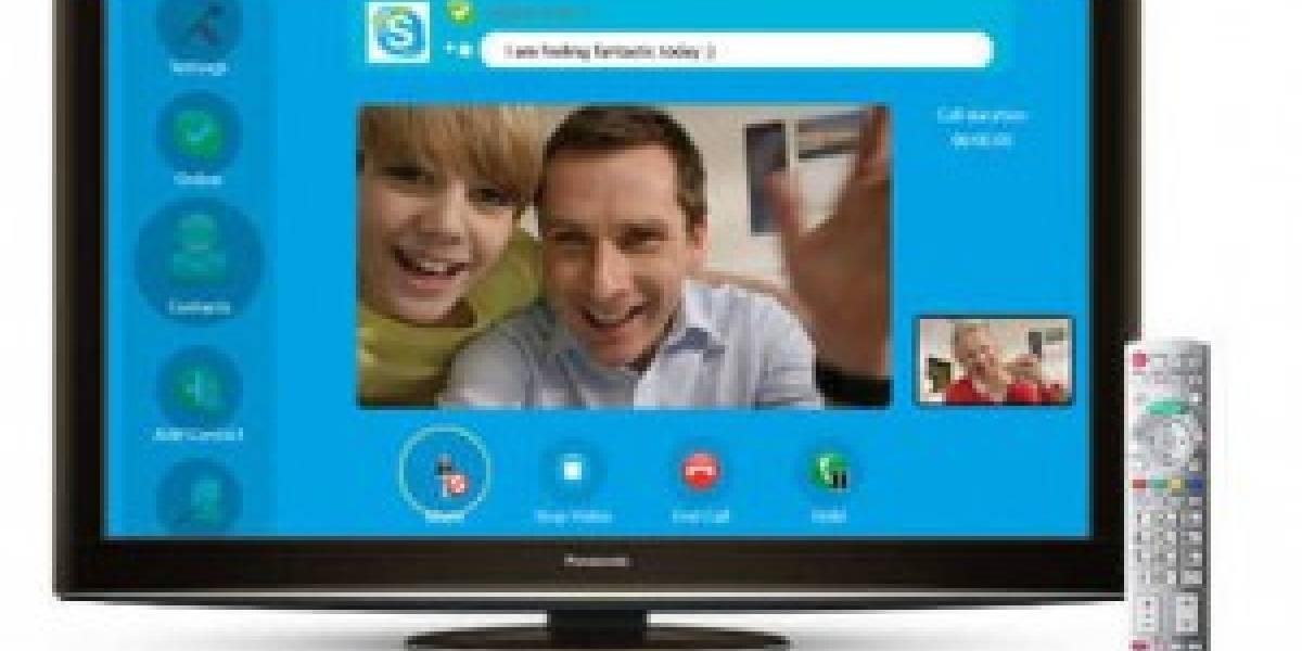 CES 2011: Skype próximamente disponible en los televisores Sony y VIZIO