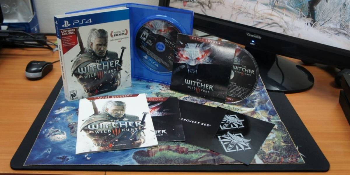 Desempacamos The Witcher 3: Wild Hunt [NB Unboxing]