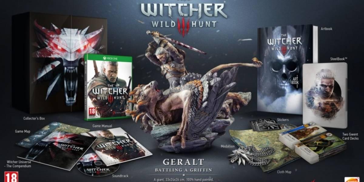 La edición de coleccionista de The Witcher 3: Wild Hunt será más completa en Xbox One