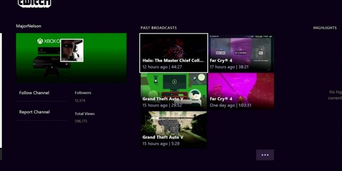 Twitch se actualiza con nueva tecnología en Xbox One