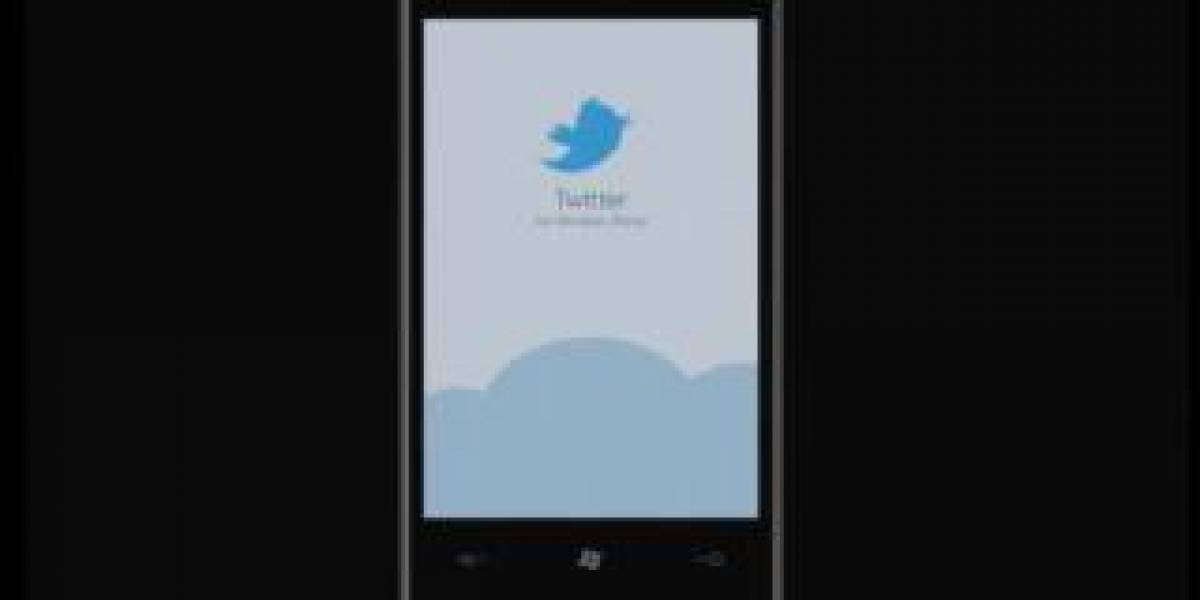 Twitter App ya disponible para Windows Phone 7