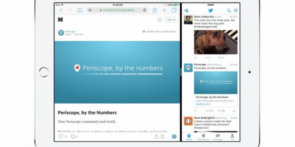 Twitter para iOS se actualiza y ofrece mejoras en el iPad