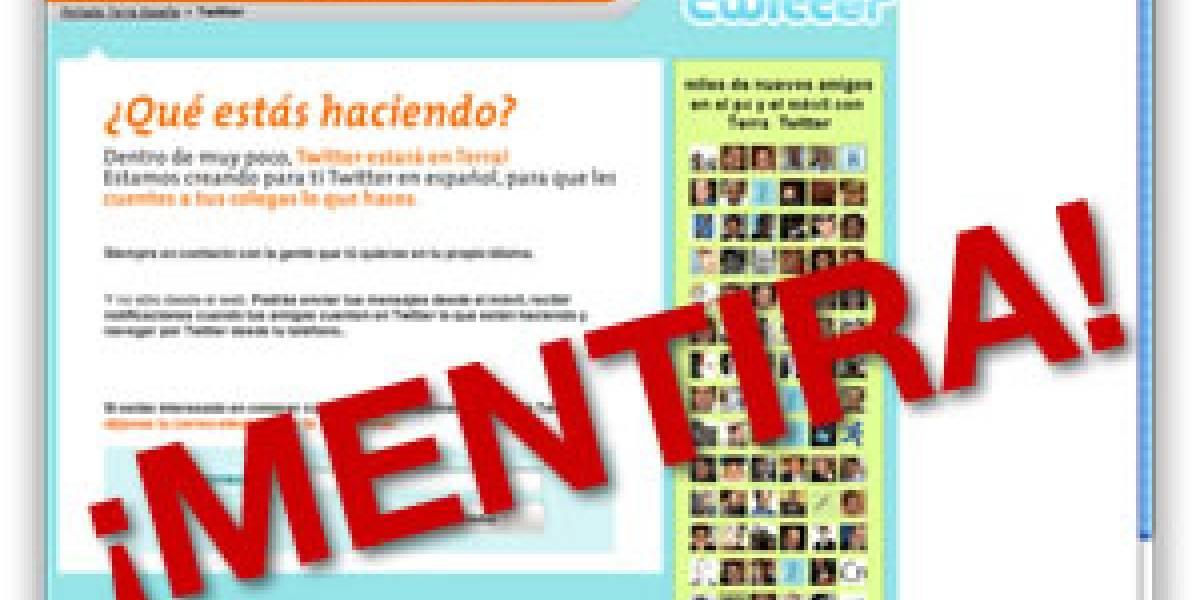 Confirmado: Twitter NO tendrá interfaz en español y desconoce a Terra